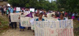 """Chiapas: """"Aunque pasamos hambre, frio y sol, nuestra lucha continuará"""": indígenas tzeltales y ch´oles"""