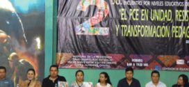 AED_CNTE CHIAPAS: ENCUENTRO REGIONAL DEL PCE, HUIXTLA_TAPACHULA