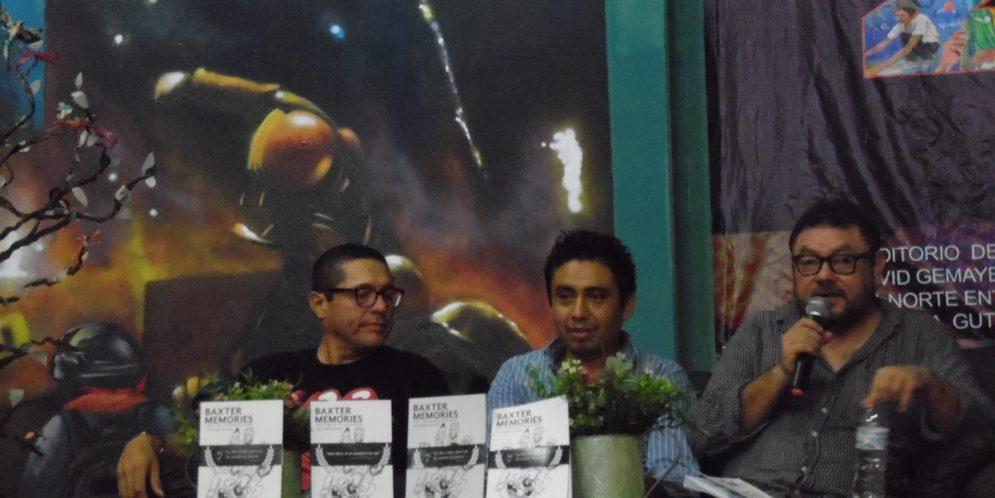 """Chiapas: """"Hacer libros es otra lucha"""", maestros en paro y Editorial Tifón, presentan el libro Baxter Memories"""