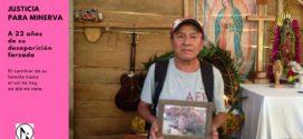 Minerva Pérez Torres, una historia de impunidad en un contexto de militarizacíón en Chiapas.