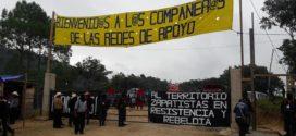 Chiapas: en territorio zapatista, inicia encuentro de redes de apoyo al Concejo Indígena de Gobierno (CIG)