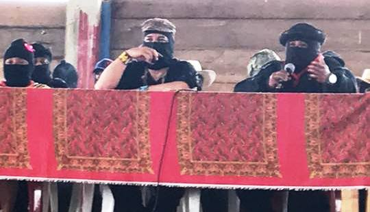 """El EZLN, convoca al Festival de Cine: """"Caracol de nuestra vida"""""""