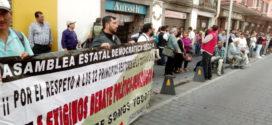 Poder ingresar al congreso de la CNTE, petición de maestr@s chiapanecos