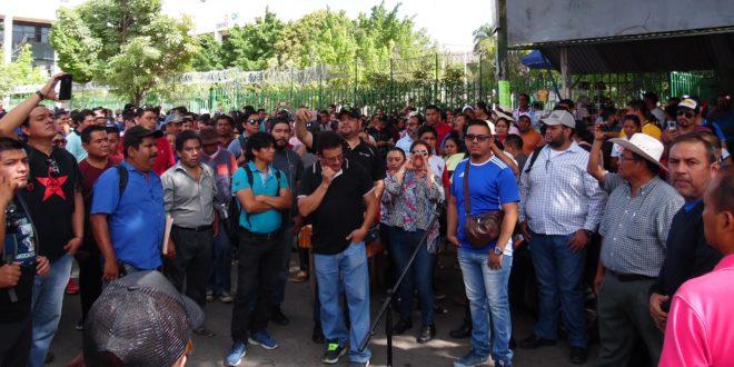 """AED-CNTE Chiapas a Escandón Cadenas: """"No hay borrón y cuenta nueva"""""""