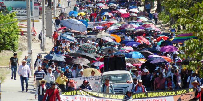 AED-CNTE Chiapas, acuerda iniciar mesa educativa con SE. Repudia política del garrote contra estudiantes normalistas