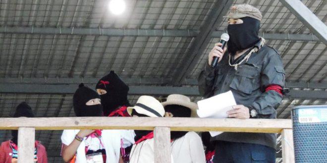 """Chiapas: """"Aunque el camino será largo, aquí seguiremos"""", EZLN 25 aniversario."""