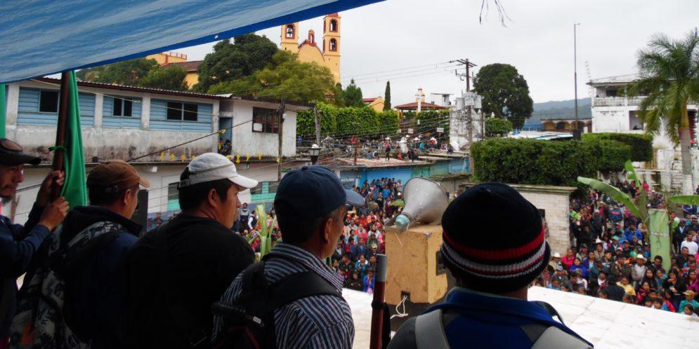 """Ejido Tila Chiapas: """"Un solo camino, defender la madre tierra"""". 3er aniversario de Autonomía Ejidal"""
