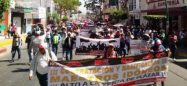 """AED-CNTE Chiapas: """"Seguimos enarbolando la bandera de lucha"""", asegura el magisterio estatal disidente"""