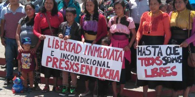 INICIAN HUELGA DE HAMBRE PRESOS INDIGENAS EN CHIAPAS
