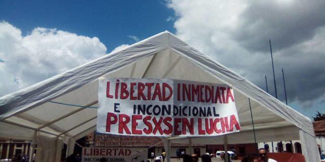 """Chiapas: """"Ya no queremos estar secuestrados de manos del mal gobierno"""", el reclamo de indígenas presos injustamente"""