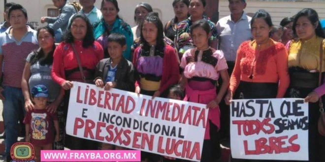 """""""Chiapas: solicitan se respeten los derechos humanos de indígenas presos en huelga de hambre"""""""