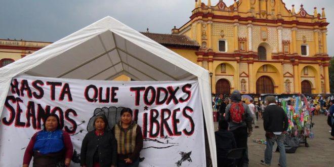 """Chiapas: gobierno de """"vacaciones"""", deja en espera a indigenas injustamente presos en huelga de hambre"""