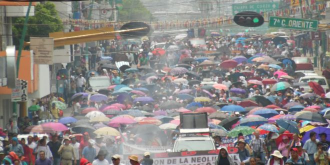 "AED_CNTE Chiapas: ""resistencia organizada, frente a imposición de dictados neoliberales"""