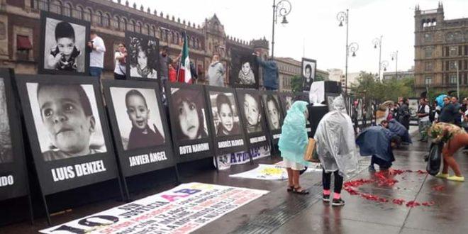 A 10 años del incendio de la Guardería ABC, también exigen justicia para Ayotzinapa, pueblos originarios y cada una de las luchas sociales.