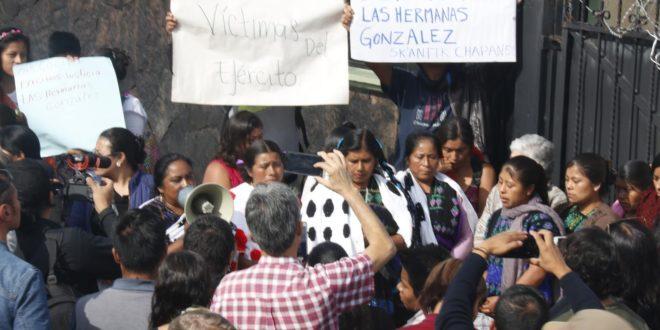 """""""En la 4T, el ejército está al servicio del capitalismo"""", Abejas de Acteal, Chiapas"""