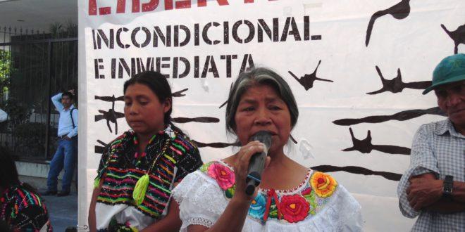 """Chiapas: """"el gobierno incrementa el abuso de poder"""", indígenas presos injustamente denuncian robo"""
