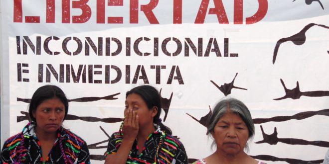 """""""Ya basta de tanta injusticia"""", el grito de indígenas injustamente condenados a 75 años"""
