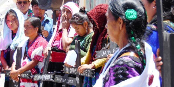 Acteal Chiapas: ¿Por qué no hay ni un militar juzgado por violaciones a las hermanas González Pérez?