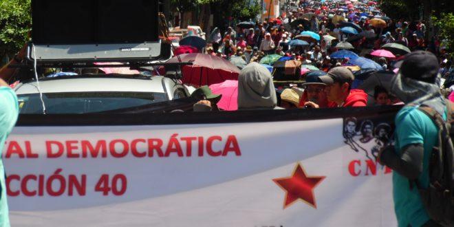 """AED_CNTE Chiapas: """"los eternos charros se vuelven a vender al mejor postor, ahora bajo los designios de la 4T"""""""