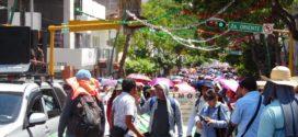 Chiapas: Magisterio democrático muestra su descontento con la 4T