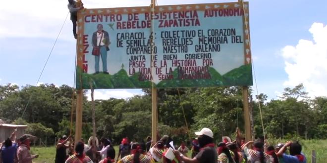 """EZLN: """"En pie de lucha, para lograr un nuevo amanecer"""""""