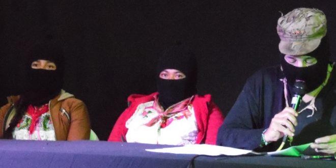 """EZLN: Niña """"Calamidad Zapatista"""", Festival de cine """"Puy Ta Kuxlejaltic"""""""