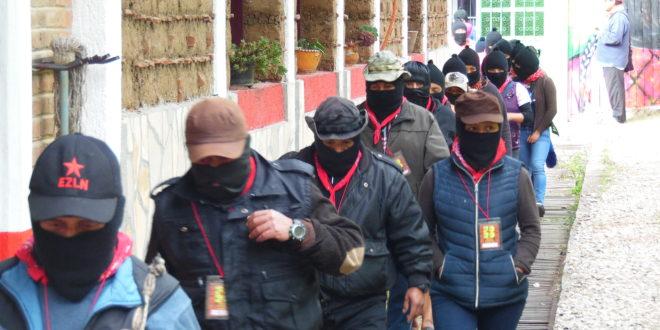 Pueblos originarios, en Defensa del Territorio y la Madre Tierra: CNI-CIG EZLN