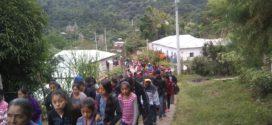 """4T, """"continúa la política para militarizar más nuestros territorios"""", Chicomuselo Chiapas"""