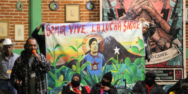 """""""Con la 4T, el hostigamiento judicial y amenaza de cárcel continúa"""". FPDTA_MPT exige justicia para Samir Flores"""