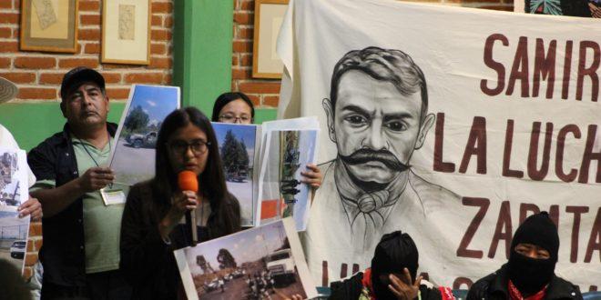 """Puebla: """"Es clara la criminalización contra Miguel López Vega"""", denuncia el FPDTA_MPT"""