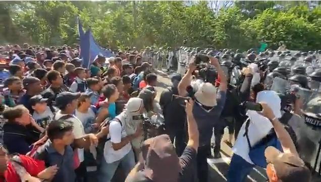 «Estado mexicano recurre a violencia, engaño y manipulación contra migrantes», DDHH