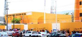 """Como en el 2013 AED-CNTE Chiapas, inicia nuevamente movilizaciones ante """"reformas neoliberales"""", que afectan sus derechos laborales, denuncian"""